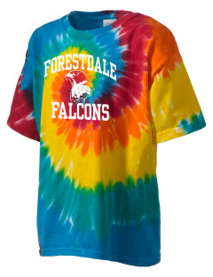 Forestdale School Falcons Kid's Tie-Dye T-Shirt