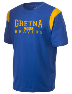 Gretna Elementary School Beavers Holloway Men's Rush T-Shirt