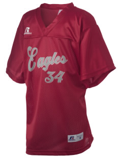 West Side High School Eagles Russell Kid's Replica Football Jersey