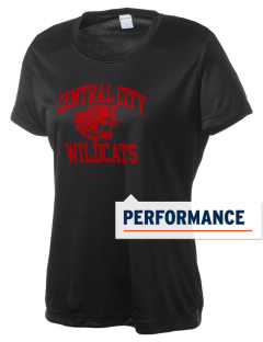 Central City Community High School Wildcats Women's Competitor Performance T-Shirt