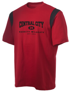 Central City Community High School Wildcats Holloway Men's Rush T-Shirt