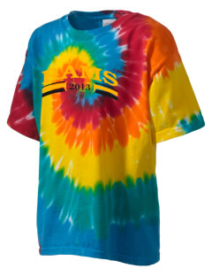 Maple Valley-Anthon Oto High School Rams Kid's Tie-Dye T-Shirt