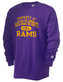 Maple Valley-Anthon Oto High School Rams  Russell Men's Long Sleeve T-Shirt