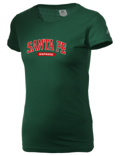 Santa Fe Elementary School South Indians  Russell Women's Campus T-Shirt