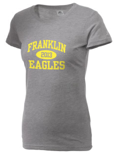 Franklin Intermediate School Eagles  Russell Women's Campus T-Shirt
