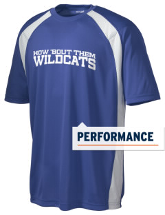 Wilmington High School Wildcats Men's Dry Zone Colorblock T-Shirt