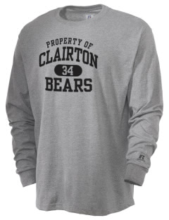 Clairton High School Bears  Russell Men's Long Sleeve T-Shirt