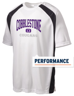 Cobblestone Elementary School Cougars Men's Dry Zone Colorblock T-Shirt