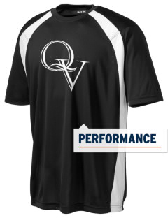 Quaker Valley High School Quakers Men's Dry Zone Colorblock T-Shirt
