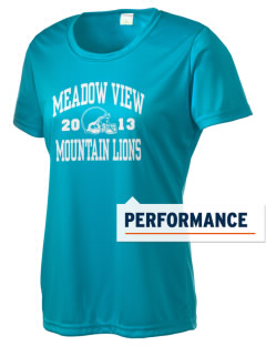Meadow View School Mountain Lions Women's Competitor Performance T-Shirt