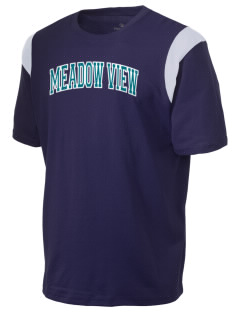 Meadow View School Mountain Lions Holloway Men's Rush T-Shirt