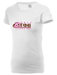 Gamma Phi Beta  Russell Women's Campus T-Shirt