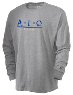 Alpha Iota Omicron  Russell Men's Long Sleeve T-Shirt