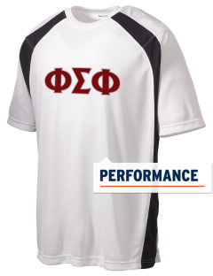 Phi Sigma Phi Men's Dry Zone Colorblock T-Shirt