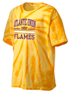 Atlantic Union College Flames Kid's Tie-Dye T-Shirt
