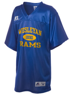 Texas Wesleyan University Rams Russell Kid's Replica Football Jersey
