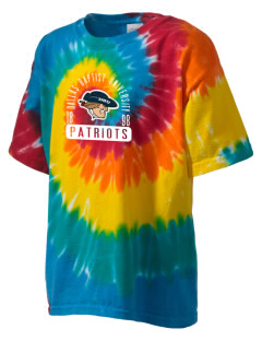 Dallas Baptist University Patriots Kid's Tie-Dye T-Shirt