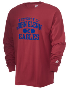 John Glenn High School Eagles  Russell Men's Long Sleeve T-Shirt