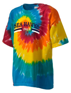 Nimitz Middle School Sea Hawks Kid's Tie-Dye T-Shirt