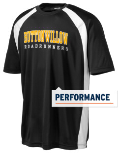 Buttonwillow Elementary School Roadrunners Men's Dry Zone Colorblock T-Shirt