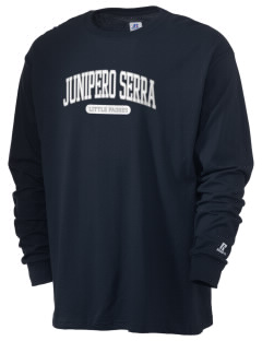 Junipero Serra Elementary School Little Padres  Russell Men's Long Sleeve T-Shirt