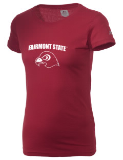 Fairmont State University Falcons  Russell Women's Campus T-Shirt