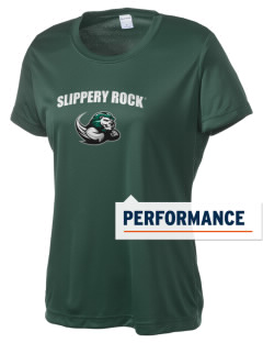 Slippery Rock University The Rock Women's Competitor Performance T-Shirt