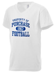 State University of New York at Purchase Panthers Kid's V-Neck Jersey T-Shirt