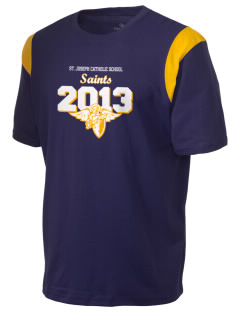St. Joseph Catholic School Saints Holloway Men's Rush T-Shirt