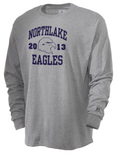 Northlake Elementary School Eagles  Russell Men's Long Sleeve T-Shirt