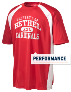 Bethel Elementary School Cardinals Men's Dry Zone Colorblock T-Shirt