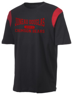 Juneau Douglas Crimson Bears Holloway Men's Rush T-Shirt