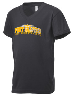 Fort Shafter Kid's V-Neck Jersey T-Shirt