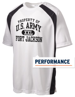 Fort Jackson Men's Dry Zone Colorblock T-Shirt