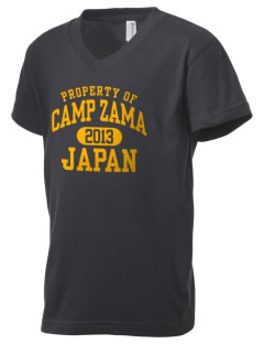 Camp Zama Kid's V-Neck Jersey T-Shirt