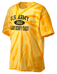 Camp Hienry-Taegu Kid's Tie-Dye T-Shirt