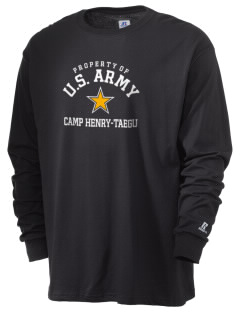 Camp Hienry-Taegu  Russell Men's Long Sleeve T-Shirt