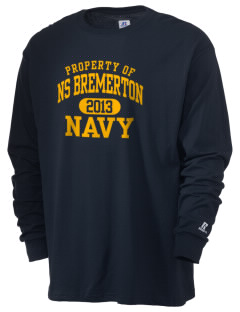 Bremerton Naval Station  Russell Men's Long Sleeve T-Shirt