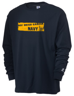 Diego Garcia Atoll Navy Support Facility  Russell Men's Long Sleeve T-Shirt