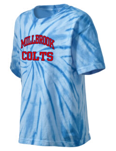 Millbrook Elementary School Colts Kid's Tie-Dye T-Shirt
