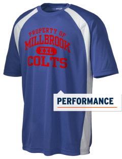 Millbrook Elementary School Colts Men's Dry Zone Colorblock T-Shirt