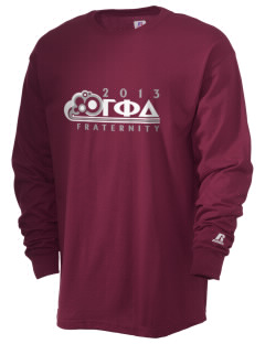 Gamma Phi Delta  Russell Men's Long Sleeve T-Shirt