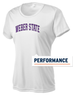 Weber State University Wildcats Women's Competitor Performance T-Shirt
