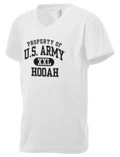 U.S. Army Kid's V-Neck Jersey T-Shirt