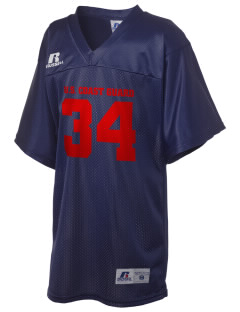 U.S. Coast Guard Russell Kid's Replica Football Jersey
