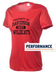 Davidson College Wildcats Women's Competitor Performance T-Shirt