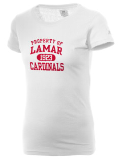 Lamar University Cardinals  Russell Women's Campus T-Shirt