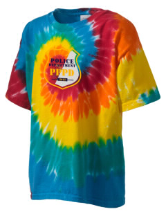 Palos Park Police Department Kid's Tie-Dye T-Shirt