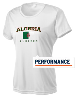 Algeria Women's Competitor Performance T-Shirt