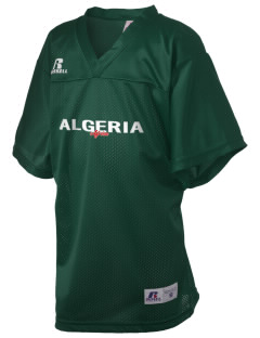 Algeria Russell Kid's Replica Football Jersey